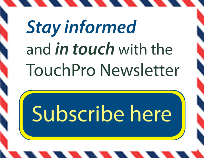 TouchPro Newsletter Signup